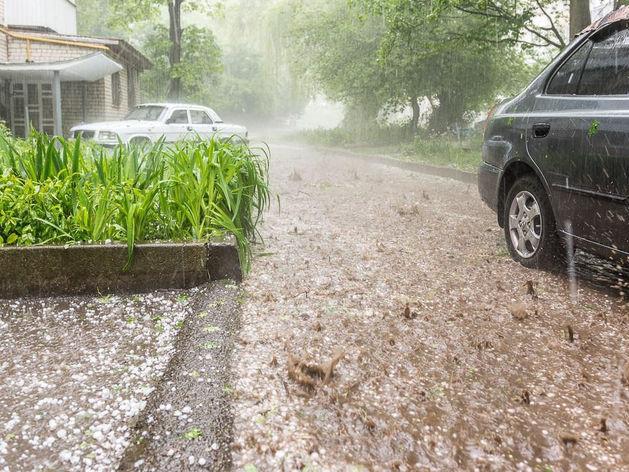 В Татарстане прогнозируют ливень с сильным ветром и градом