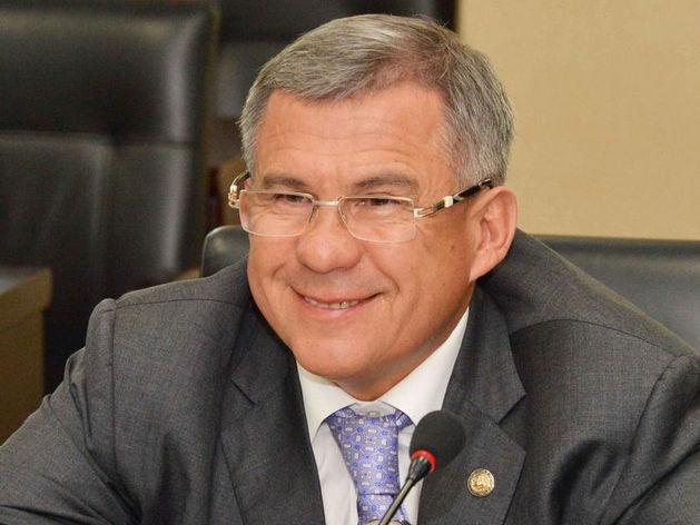 Президент Татарстана Рустам Минниханов ушел в отпуск