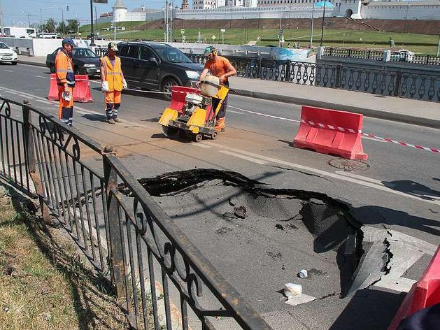 Казанские власти потратят миллиард от президента на ремонт основных городских магистралей