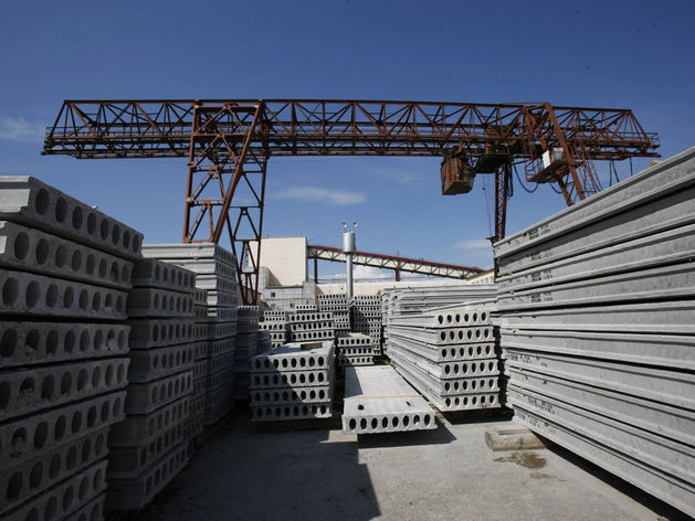 Продукция Казанского завода ЖБИ арестована за долги