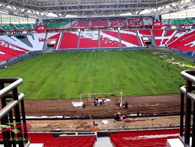 Из федеральной казны выделили 47,5 млн на новый газон для «Казань Арены»