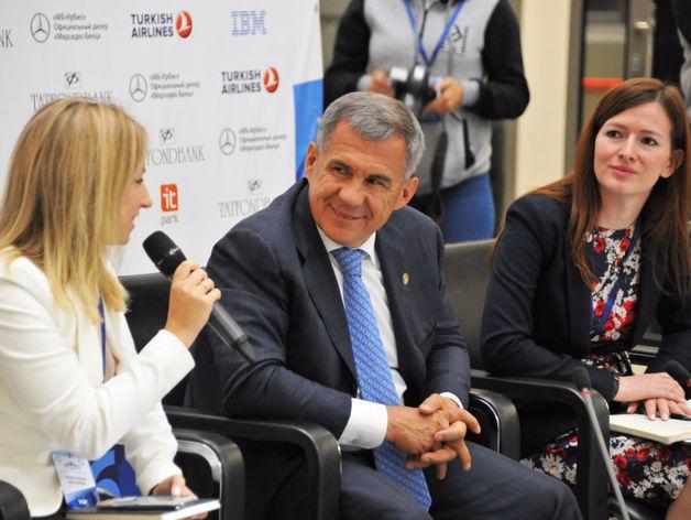 Рустам Минниханов принял участие в Евразийской встрече шейперов