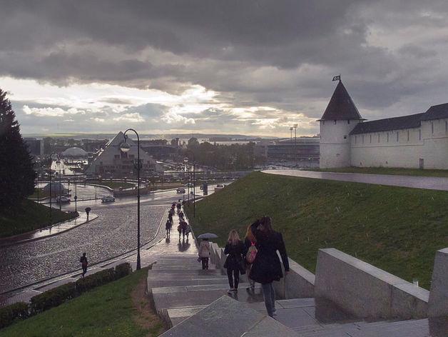 В Казань во вторник придут дожди и порывистый ветер
