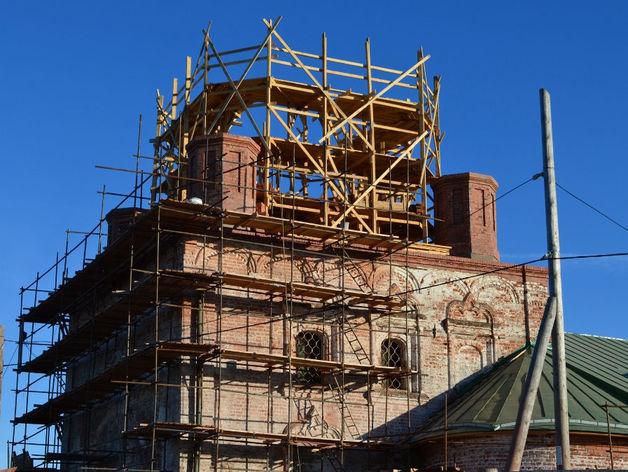 В Татарстане погиб реставратор церкви, упав с крыши во время работ