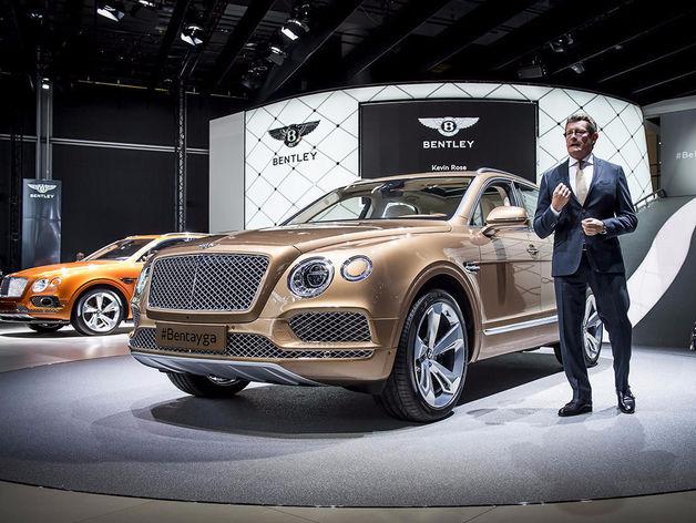 Bentley искал дилеров в Казани для продвижения внедорожника Bentayga
