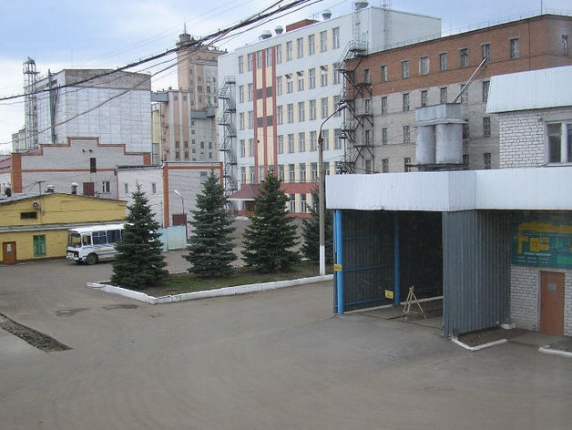 В Казани произошёл пожар на комбикормовом заводе