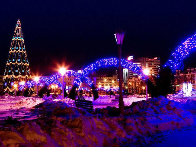 Казань украсят к Новому году за 16,5 млн рублей