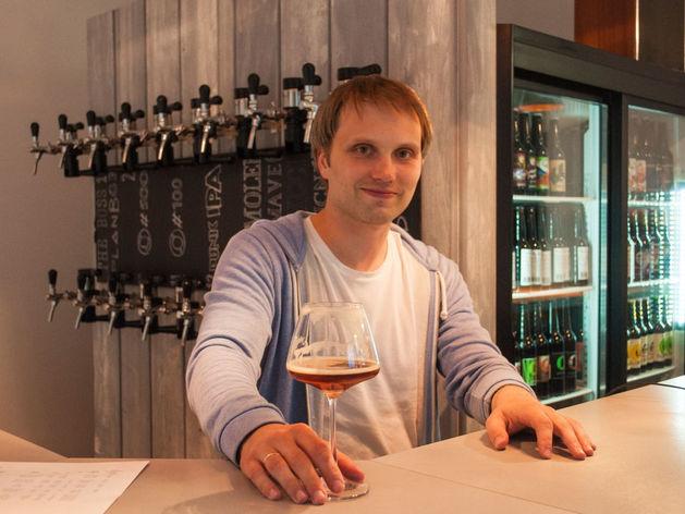Как Дмитрий Фомин зарабатывает на пиве для эстетов
