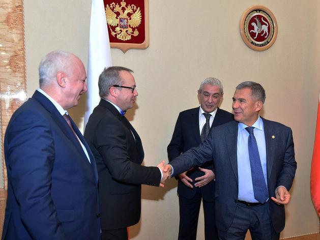 Минниханов обсудил с главами немецких компаний локализацию производств в Татарстане
