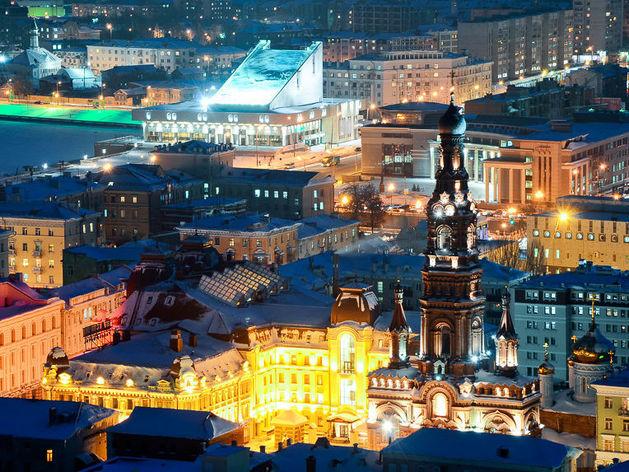 Турпоток в Казань вырос на 14%, до 2,4 млн человек