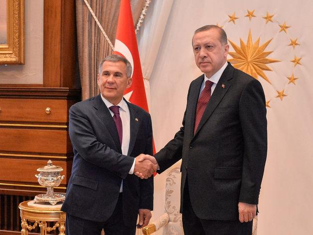 Рустам Минниханов встретился с президентом Турции Реджепом Эрдоганом