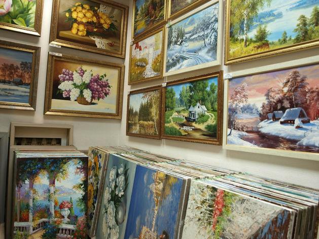 В Казани у бизнесмена похитили 140 картин