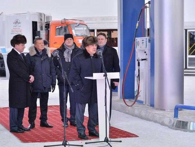 «Газпром» вложил в газозаправочную инфраструктуру Татарстана 1,5 млрд рублей