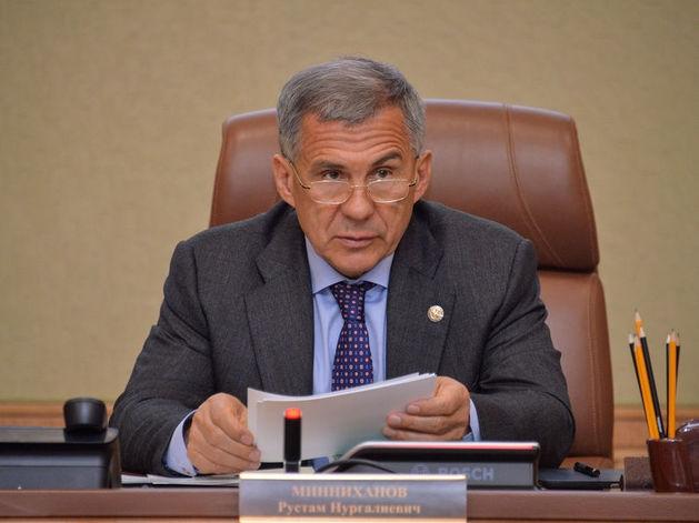 Рустам Минниханов сравнил крушение «Татфондбанка» с авиакатастрофой над Чёрным морем