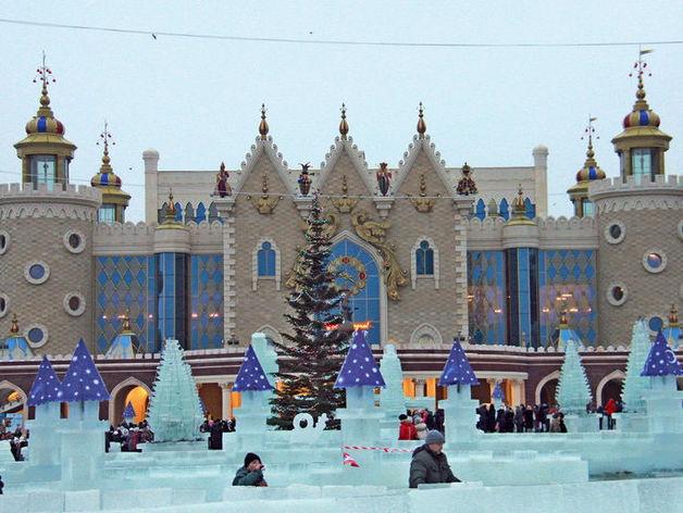 В Казани откроется ледовый городок у театра кукол «Экият»