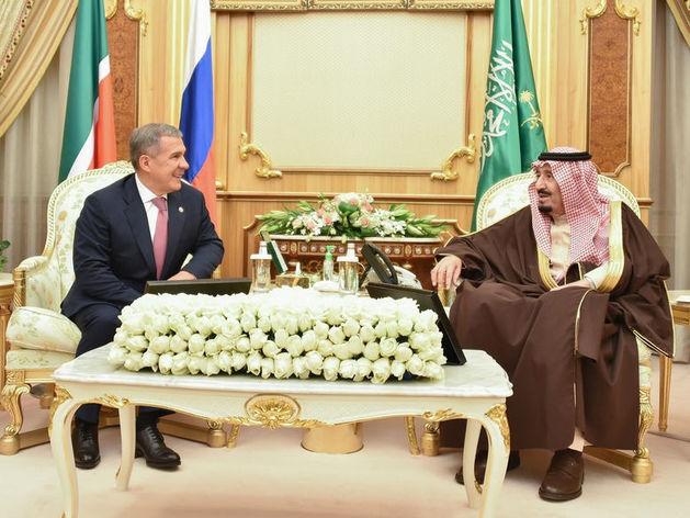 Рустам Минниханов пригласил короля Саудовской Аравии в Татарстан